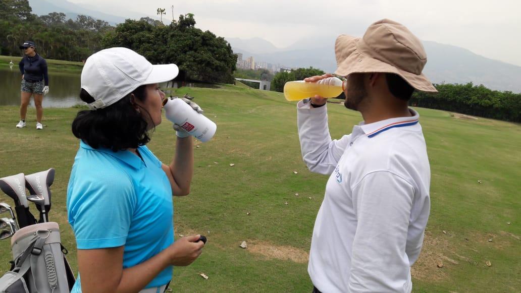 hidratación golf