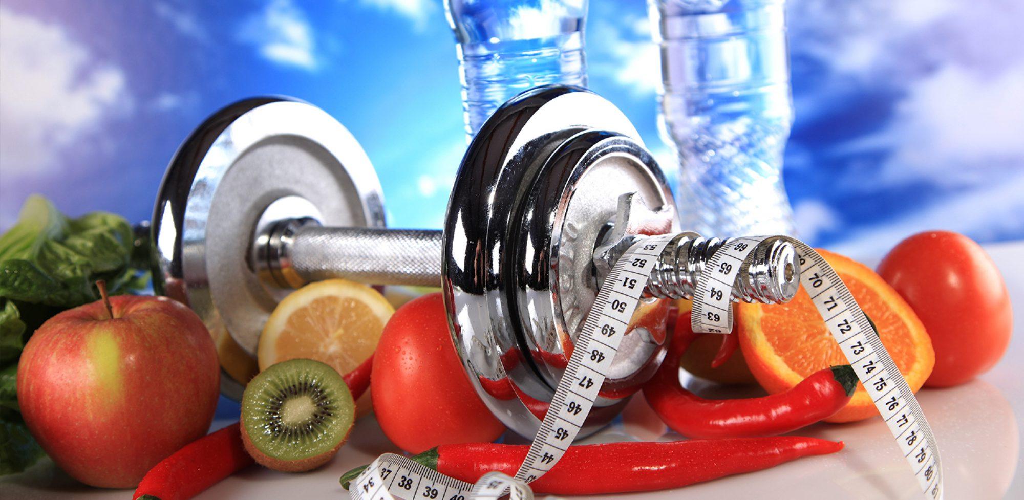 pesas y alimentos