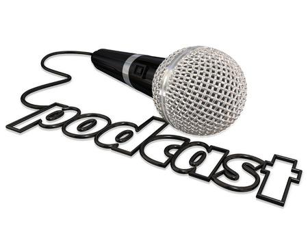 microfono palabra podcast